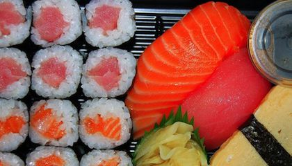How Plastic Pollution Can Carry Flame Retardants Into Your Sushi
