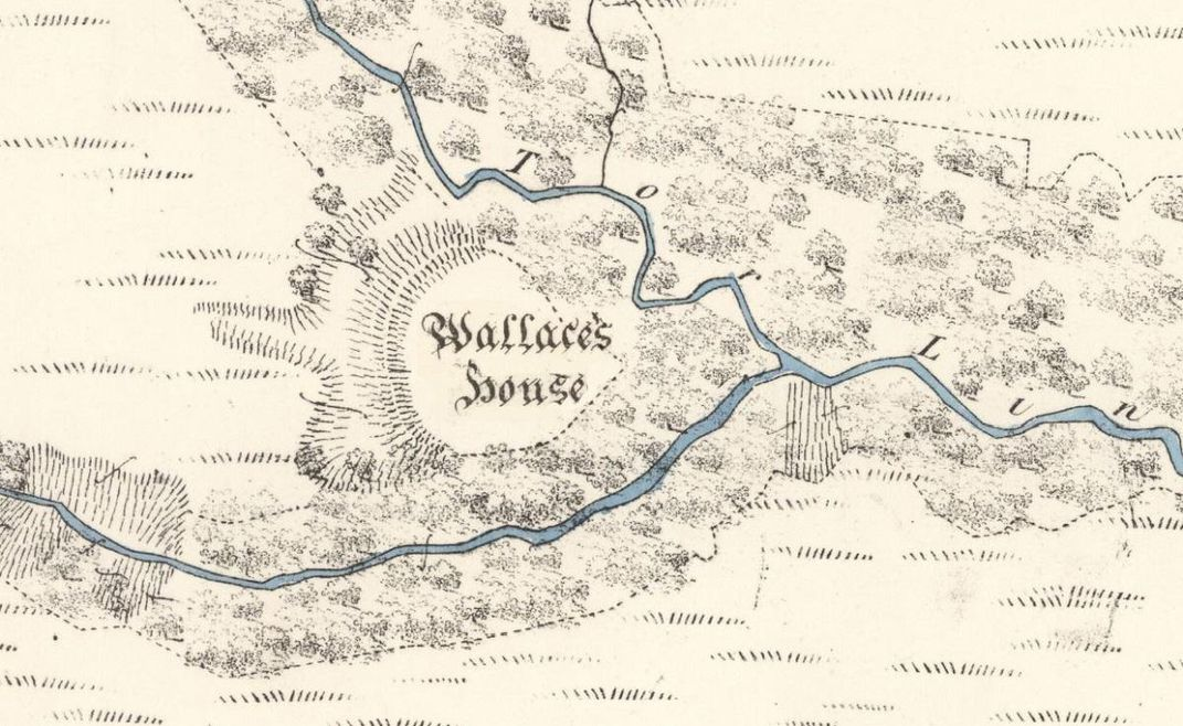 Wallace's House map