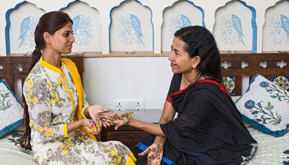 A Quest to Master the Art of Henna