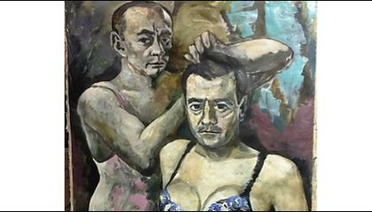Russian Authorities Are Deciding If It's Illegal to Paint Putin in a Negligee
