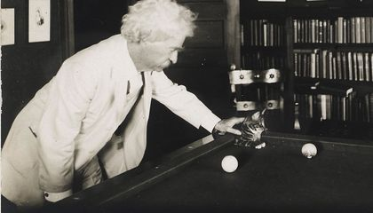 Mark Twain Liked Cats Better Than People
