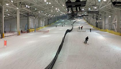 Eight of the World's Coolest Indoor Snow Parks