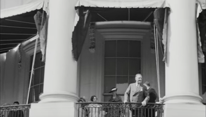 Newly Discovered Footage Offers Rare Glimpse of FDR Walking