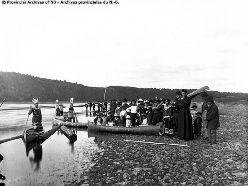 The First Nation Routes Were Ancient Highways That Traversed Rivers Creeks And Streams