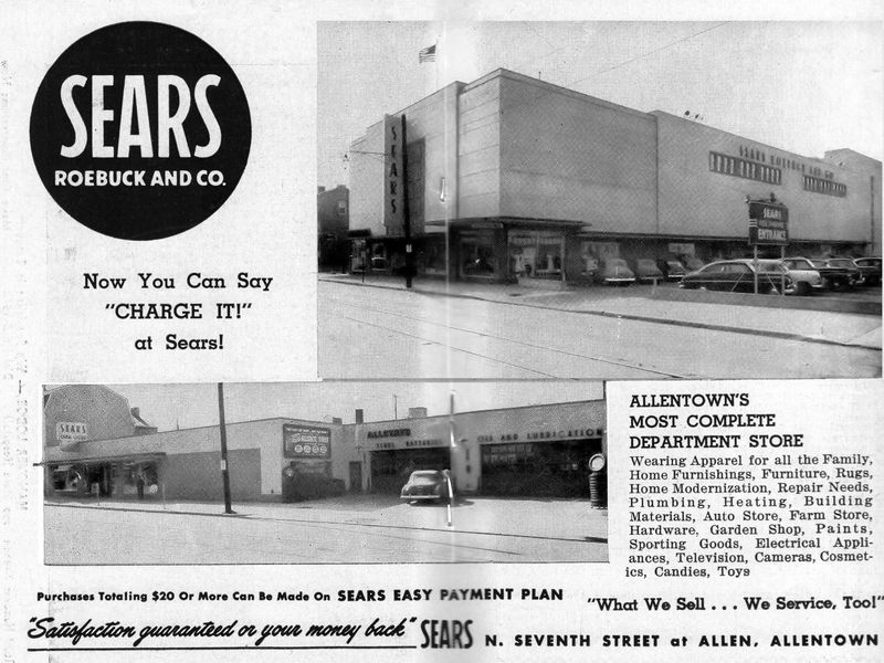 8c871fcb117 Opening Of Sears Department Store