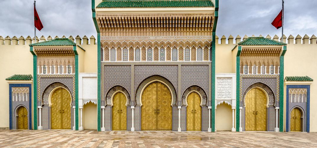 Entrance to the Royal Palace, Fez