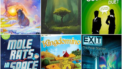 The Ten Best Board Games of 2017