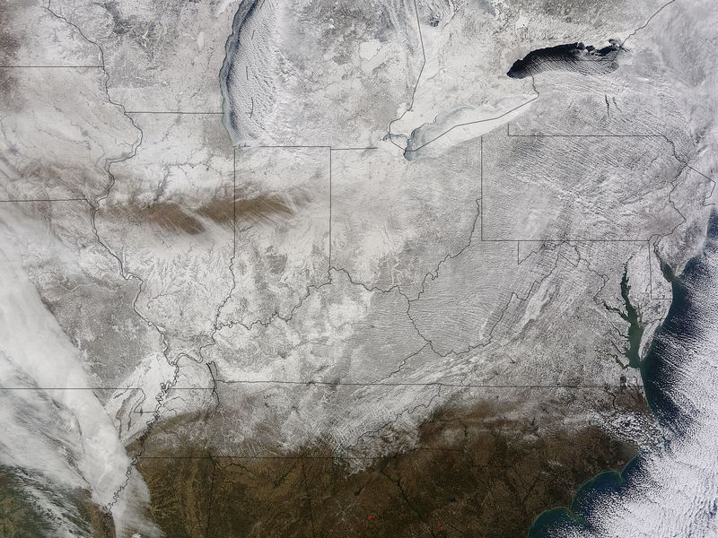 Cold Eastern United States