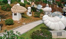 Evolution World Tour: Foraminifera Sculpture Park, China