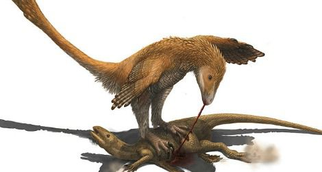 "Did Deinonychus and other ""raptors"" use their foot claws to restrain prey?"