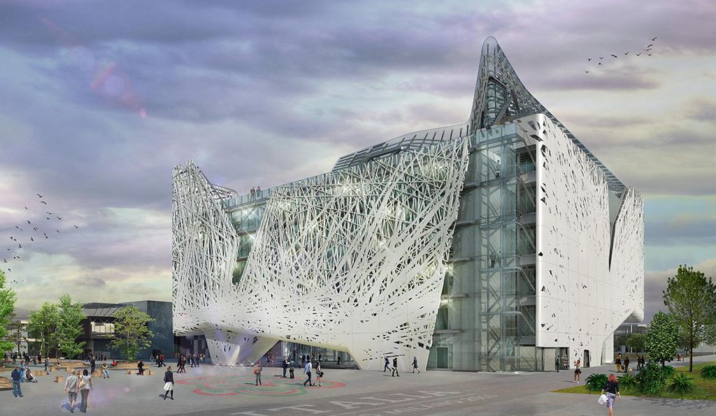 The Italian Pavilion at Expo 2015 in Milan will act as a smog scrubber.