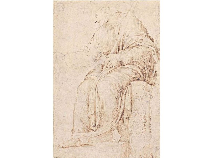 Art Historian Says He Has Identified the Earliest-Known Michelangelo Drawing