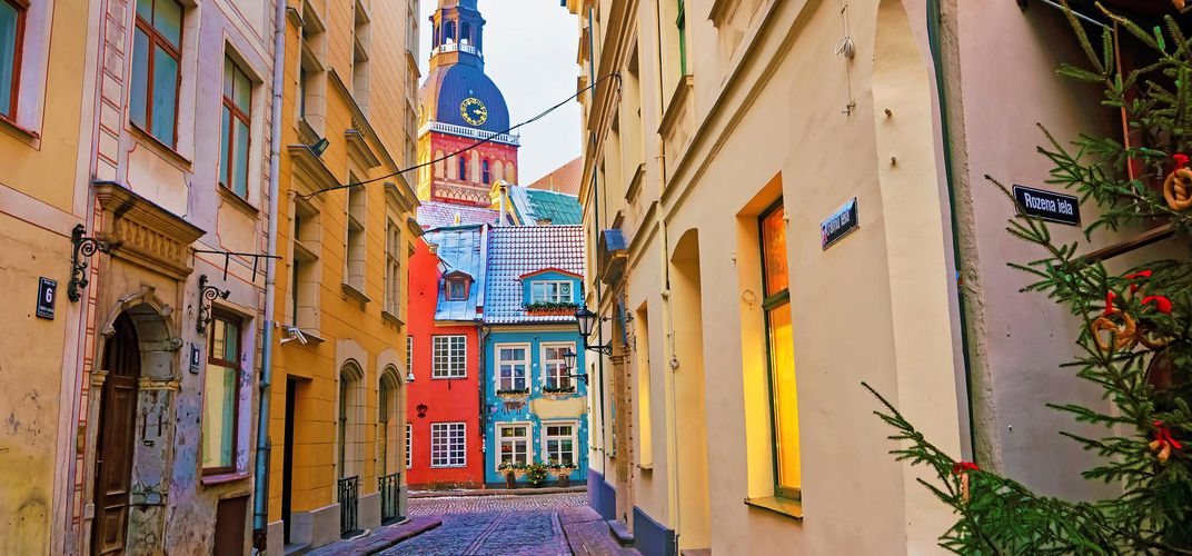 Colorful Riga