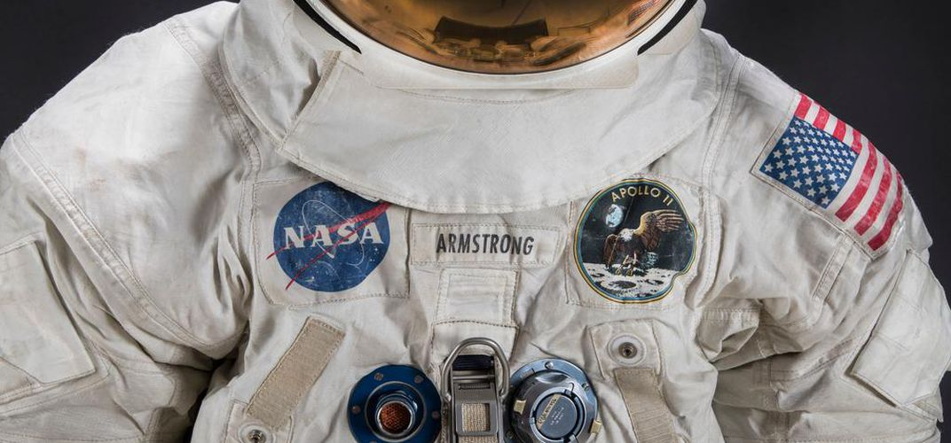 Caption: Neil Armstrong Spacesuit to Return to Public View