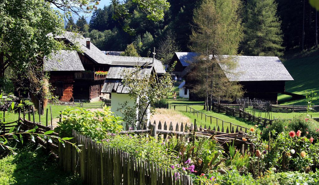 Visitors to the Österreichisches Freilichtmuseum can check out historic farmsteads and live artisans.