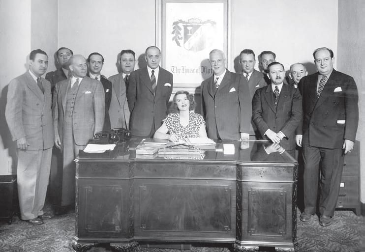 Tillie Lewis and brokers 1945