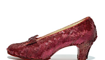 The Return of Dorothy's Iconic Ruby Slippers, Now Newly Preserved for the Ages