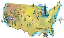 Destination America map