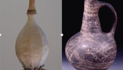 Residue of Opium Poppy Found in Bronze Age Juglet