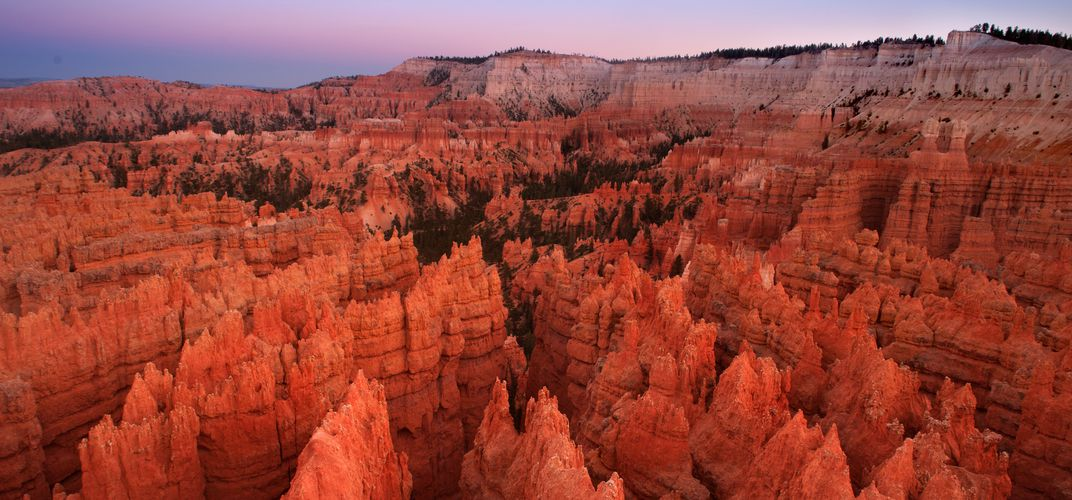 The legendary hoodoos of Bryce Canyon