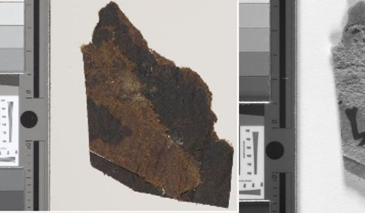 Text Found on 'Blank' Dead Sea Scroll Fragments