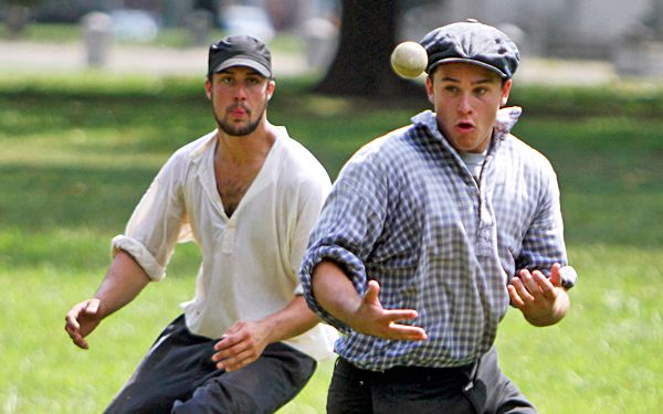Wanna play ball like your great-great grandfather?