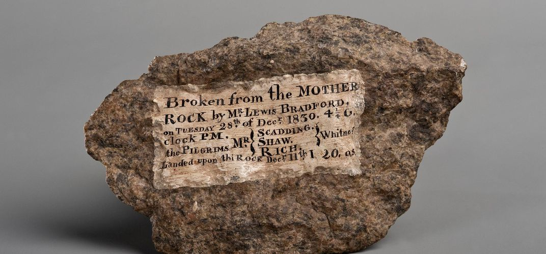 Caption: The True Story Behind Plymouth Rock