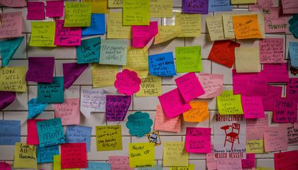 New Yorkers' Post-Election Post-its Will Be Preserved