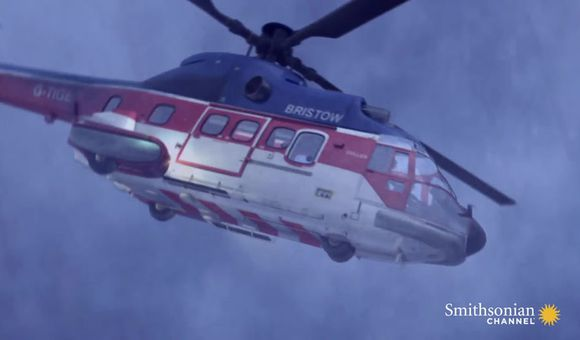 Preview thumbnail for video'Did this helicopter cause its own lightning strike?