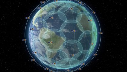 Iridium Satellites Launch a New Era of Global Tracking