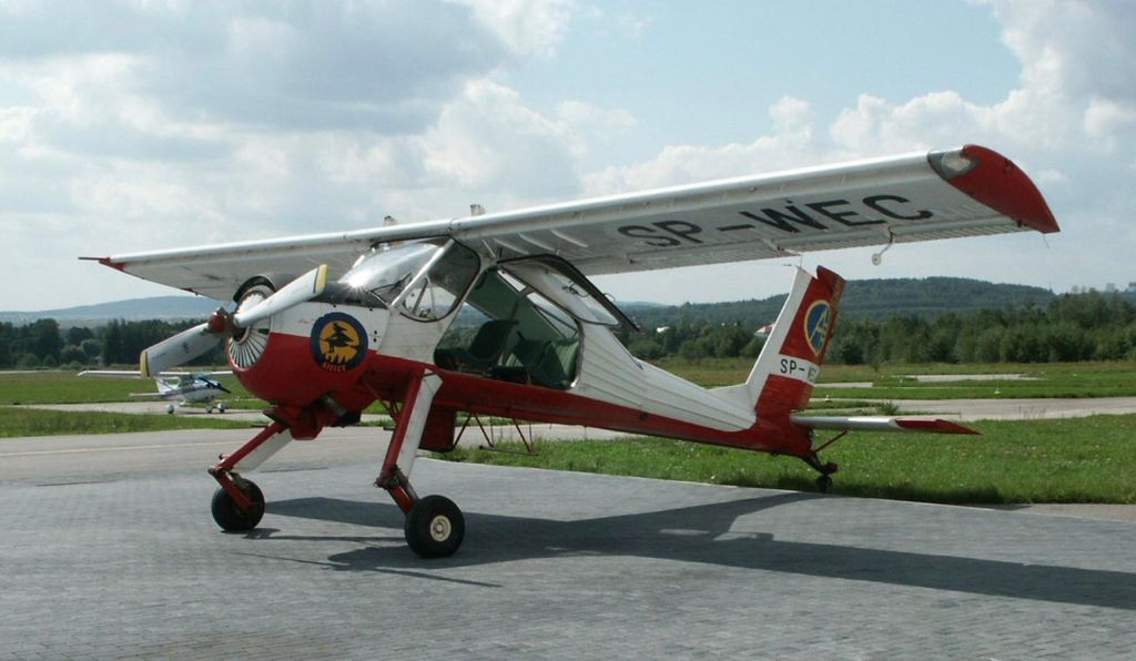 The PZL-104 Wilga.
