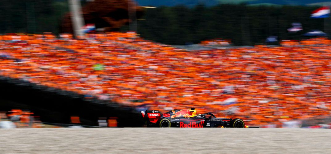 Scene from the Austrian Grand Prix. Credit: Formula 1