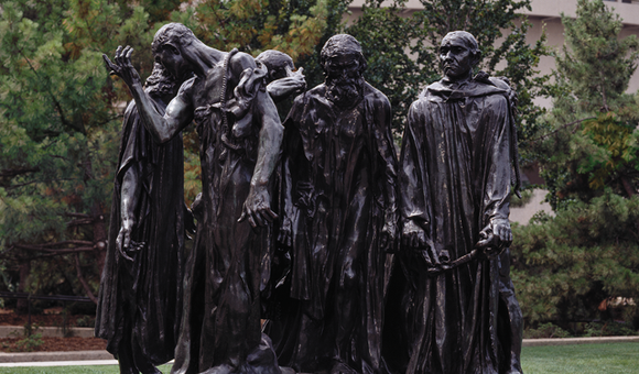 The Burghers of Calais, 1884-1889, cast 1953-1959