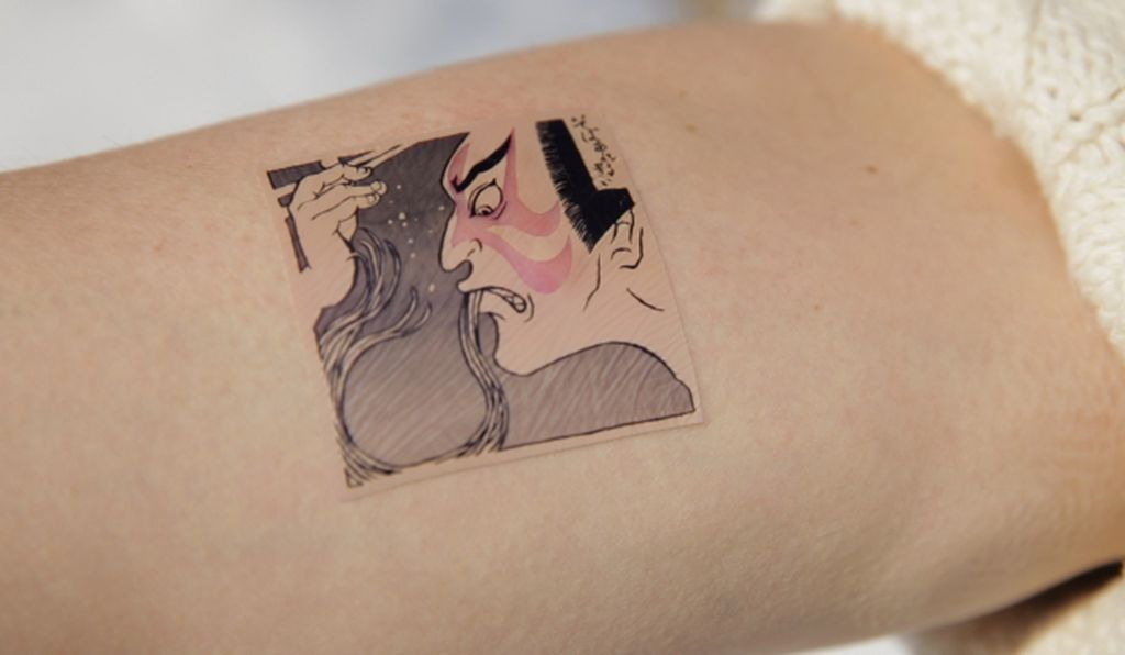 These temporary tattoos can help id a food allergy smart for Allergic reaction to temporary tattoos