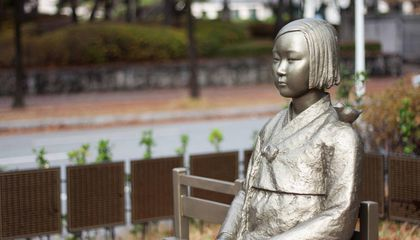 """Comfort Woman"" Statue Stokes Old Tensions Between Japan and South Korea"