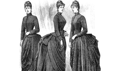 Although Less Deadly Than Crinolines, Bustles Were Still a Pain in the Behind