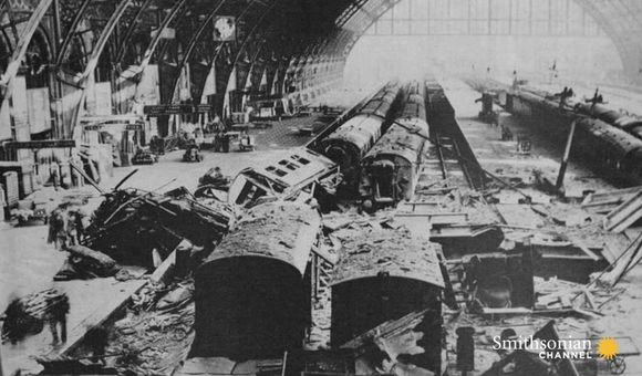 Preview thumbnail for video'The Crucial Role the British Railway Played During WWII