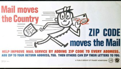 Mr. Zip and the Brand-New ZIP Code