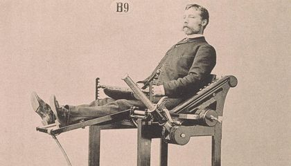 Dr. Gustav Zander's Victorian-Era Exercise Machines Made the Bowflex Look Like Child's Play
