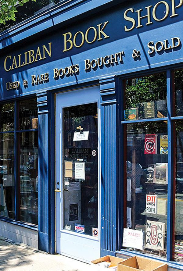 Caliban book shop in Pittsburgh