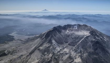 Mount St. Helens in 2018. (USGS)