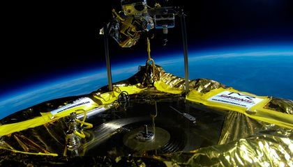 How Engineers Got a Vinyl Record to Play in the Stratosphere