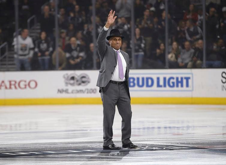 Willie O'Ree, the first black player in the NHL