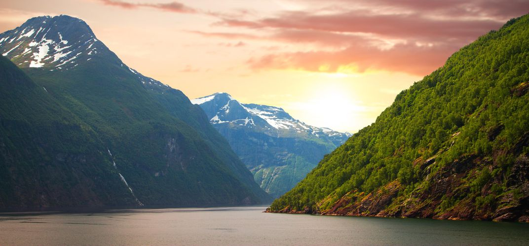 The beauty of Sognefjord