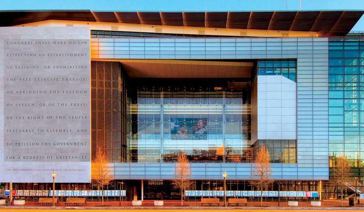 D.C.'s Newseum Is Closing Its Doors at the End of the Year