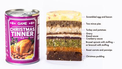 Christmas Tinner.Would You Eat A Holiday Dinner In A Can Innovation