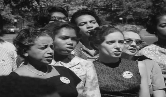 Preview thumbnail for video'Watch Newsreel Footage from the March on Washington