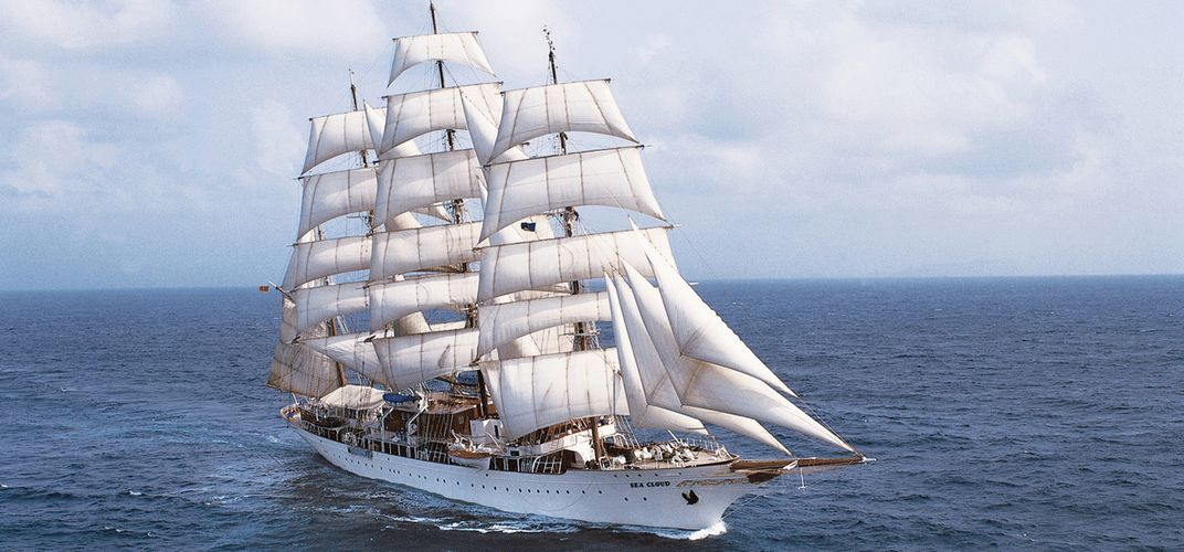 The incomparable <i>Sea Cloud</i>