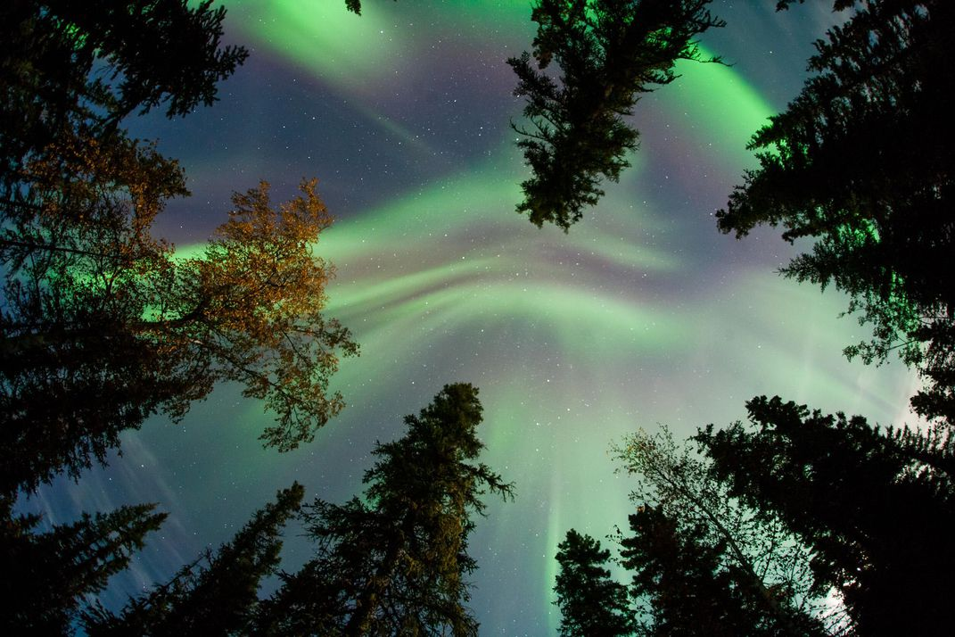Powerful Solar Flare Paints the Sky With Candy-Colored