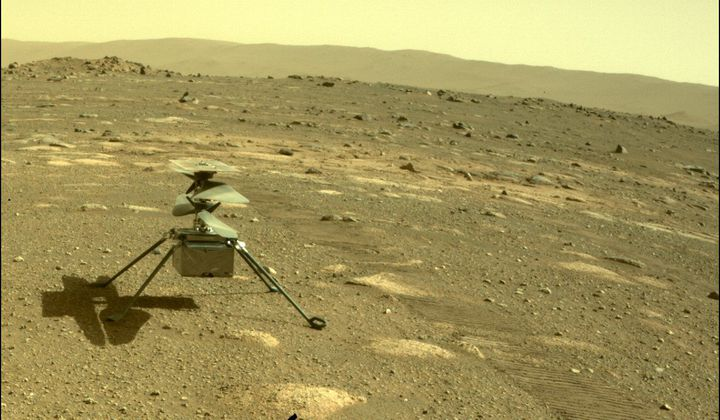 Ingenuity Helicopter Survives First Night on Mars